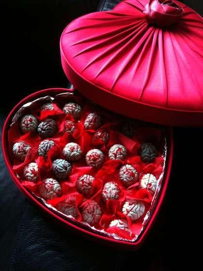 Bloody Brain Chocolates