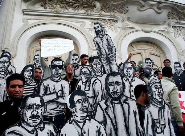 Community Graffiti Statues