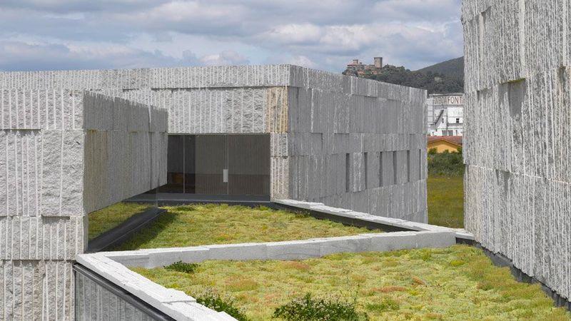 Granite Data Center : Granite galician arts centers zooco estudio