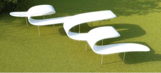 Spiraling Urban Seating