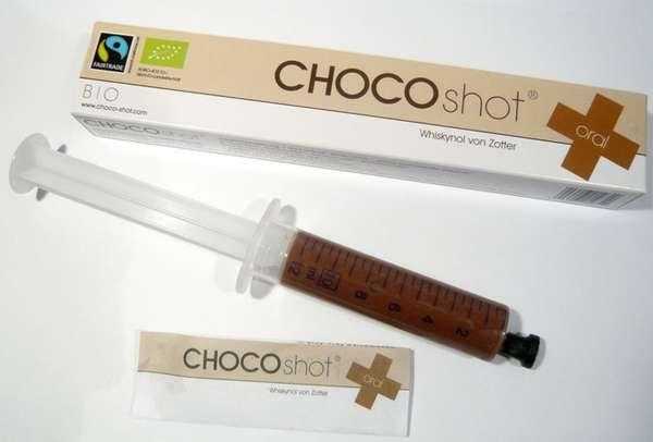 Sweet-Filled Syringes