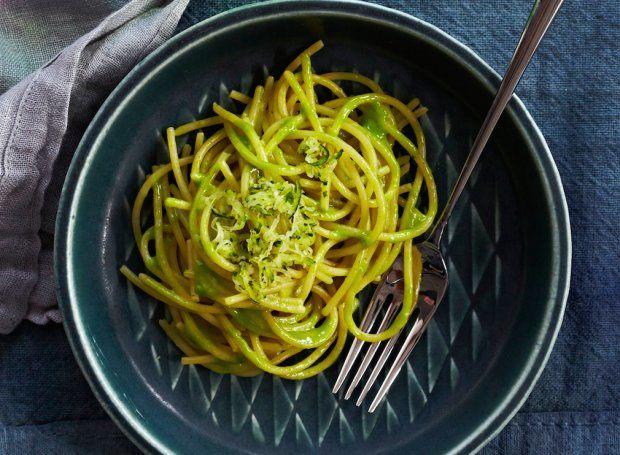 Zucchini-Glazed Spaghetti
