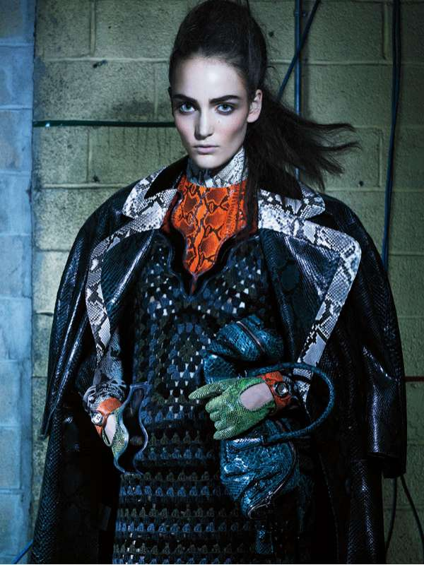 Zuzanna Bijoch July 2011 Interview Magazine