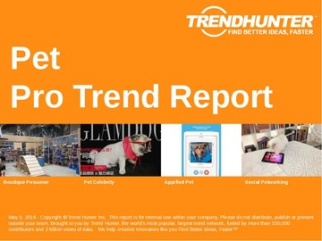 Pet Trend Report and Pet Market Research