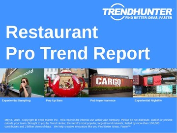 Restaurant Trend Report and Restaurant Market Research