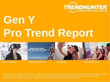 Gen Y Trend Report and Gen Y Market Research