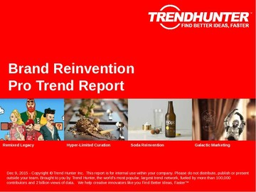 Brand Reinvention Trend Report and Brand Reinvention Market Research