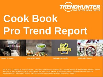 Cook Book Trend Report and Cook Book Market Research