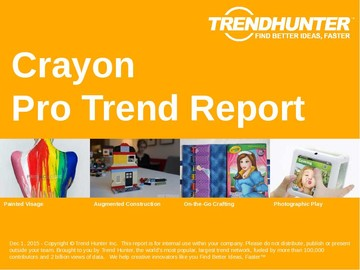 Crayon Trend Report and Crayon Market Research