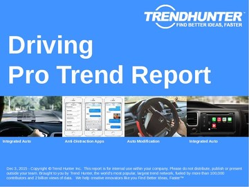 Driving Trend Report and Driving Market Research