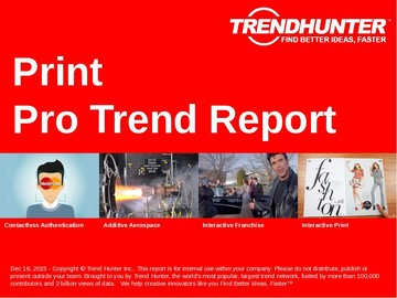 Print Trend Report and Print Market Research