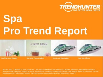 Spa Trend Report and Spa Market Research