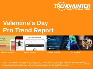 Valentine's Day Trend Report and Valentine's Day Market Research