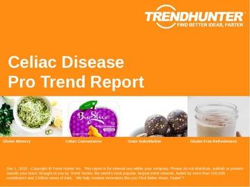 Celiac Disease Trend Report and Celiac Disease Market Research