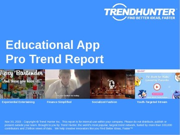 Educational App Trend Report and Educational App Market Research