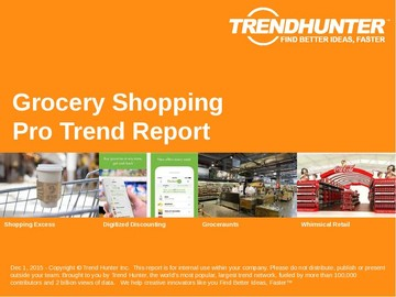 Grocery Shopping Trend Report and Grocery Shopping Market Research
