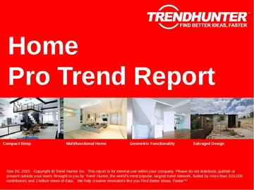 Home Trend Report and Home Market Research