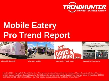 Mobile Eatery Trend Report and Mobile Eatery Market Research