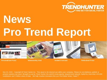 News Trend Report and News Market Research