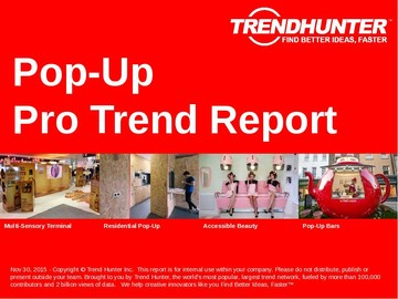 Pop-Up Trend Report and Pop-Up Market Research