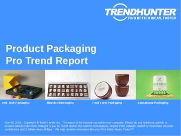 Product Packaging Trend Report and Product Packaging Market Research