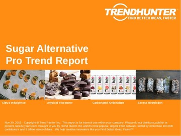 Sugar Alternative Trend Report and Sugar Alternative Market Research