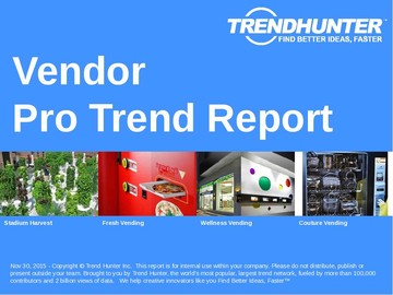 Vendor Trend Report and Vendor Market Research