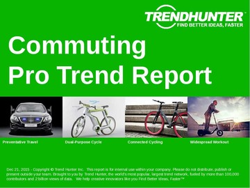 Commuting Trend Report and Commuting Market Research