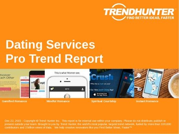 Dating Services Trend Report and Dating Services Market Research