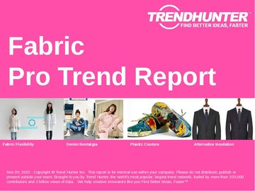 Fabric Trend Report and Fabric Market Research