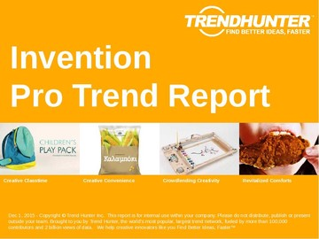 Invention Trend Report and Invention Market Research