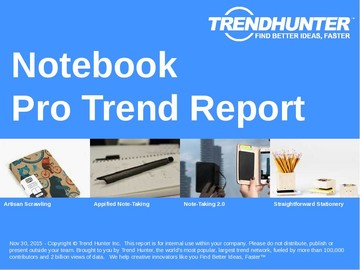 Notebook Trend Report and Notebook Market Research
