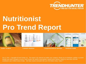 Nutritionist Trend Report and Nutritionist Market Research