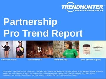 Partnership Trend Report and Partnership Market Research
