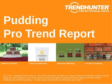 Pudding Trend Report and Pudding Market Research
