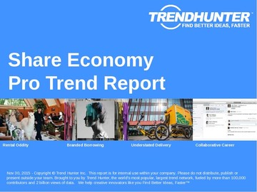 Share Economy Trend Report and Share Economy Market Research