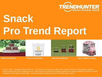 Snack Trend Report and Snack Market Research