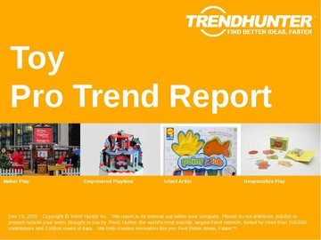 Toy Trend Report and Toy Market Research