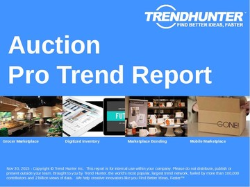 Auction Trend Report and Auction Market Research