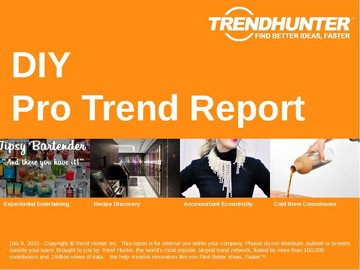 DIY Trend Report and DIY Market Research