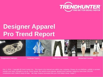 Designer Apparel Trend Report and Designer Apparel Market Research