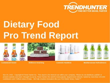 Dietary Food Trend Report and Dietary Food Market Research
