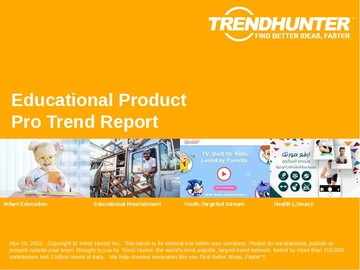 Educational Product Trend Report and Educational Product Market Research