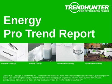 Energy Trend Report and Energy Market Research