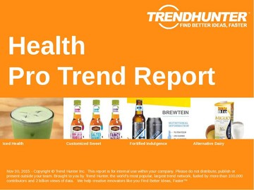 Health Trend Report and Health Market Research