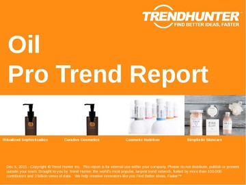 Oil Trend Report and Oil Market Research