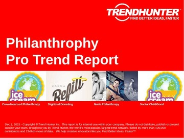 Philanthrophy Trend Report and Philanthrophy Market Research