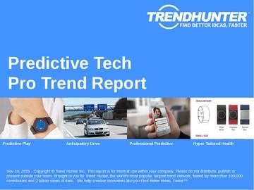 Predictive Tech Trend Report and Predictive Tech Market Research