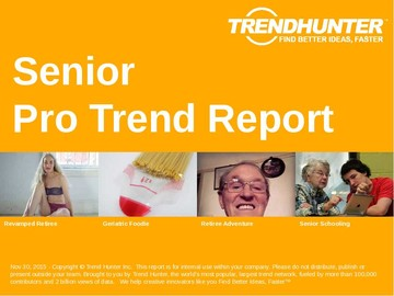 Senior Trend Report and Senior Market Research