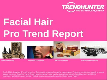 Facial Hair Trend Report and Facial Hair Market Research